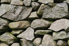 Dry stone 3. Dry stone wall detail shot, texture or background stock photo