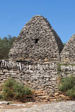 Dry stone hut in Gordes Stock Photos