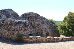 Dry stone shed, Bories Village, Gordes, France Stock Photo