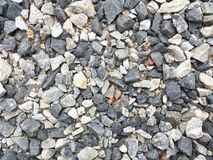 Dry stone texture on the floor Royalty Free Stock Photography