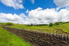 A dry stone wall Stock Image