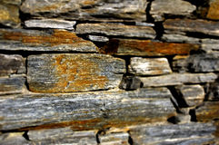 Dry Stone Wall Royalty Free Stock Photography