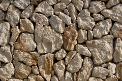 Dry stone wall Royalty Free Stock Images
