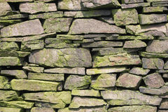 Dry stone wall Stock Image