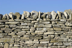 Dry Stone Wall Royalty Free Stock Photos