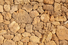 Dry stone wall Royalty Free Stock Photos