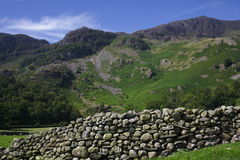 Dry stone wall in Cumbria, UK Stock Photos