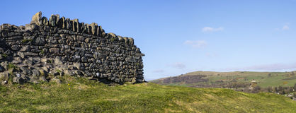 Dry Stone Wall in the Lake District Stock Photo