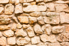 Dry-stone wall Stock Photos