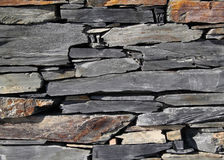 Dry stone wall - Portugal Royalty Free Stock Photo