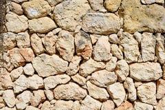 Dry stone wall in Sardinia Stock Photography