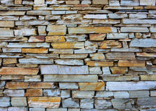 Dry stone wall texture. Or background Royalty Free Stock Images
