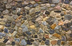 Dry stone wall texture background Royalty Free Stock Images