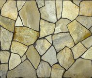 Dry stone wall texture background. Close up Royalty Free Stock Images