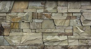 Dry stone wall texture background. Close up Stock Images