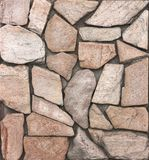 Dry stone wall texture background. Close up Stock Photos