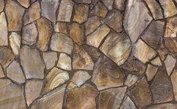 Dry stone wall texture background. Close up Stock Image