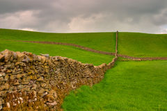 Dry stones wall Royalty Free Stock Images