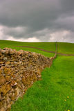Dry stones wall Stock Photo