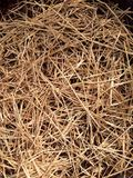 Dry straw Stock Photo