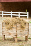 Dry straw for sheep stock images
