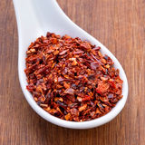 Dry sweet red pepper Royalty Free Stock Photography