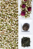 Dry Tea Flowers Royalty Free Stock Photo