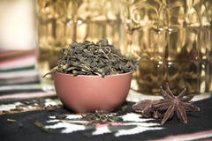 Dry tea Royalty Free Stock Images