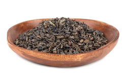 Dry tea leaves Stock Photography