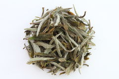 Dry Tea. On a white background Royalty Free Stock Images