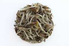 Dry Tea. On a white background Stock Photography