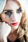 Dry those tears Royalty Free Stock Images