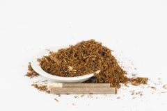 Dry tobacco. Royalty Free Stock Photo