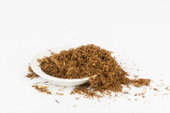 Dry tobacco. Dry tobacco - Stock image macro Royalty Free Stock Photo