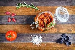 Dry tomatoes Stock Photo