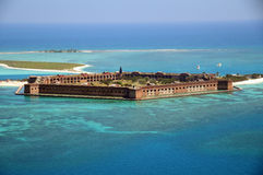 Dry Tortugas. Island that is 70 miles off Key West, Ft Jefferson- The Dry Tortugas Stock Image