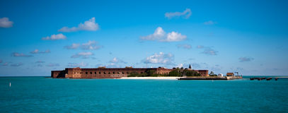 Dry Tortugas. Dry Tortuga National Park in Florida Keys Royalty Free Stock Image