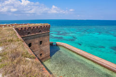 Dry Tortugas aerial view Stock Photography