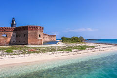 Dry Tortugas entrance royalty free stock images