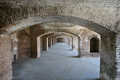 Dry Tortugas, Fort Jefferson Stock Photo