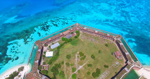 Dry Tortugas National Park, Fort Jefferson. Florida. USA. Stock Images