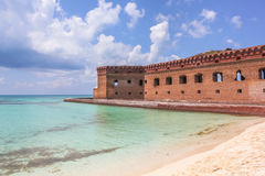 Dry Tortugas tropical beach Royalty Free Stock Photo