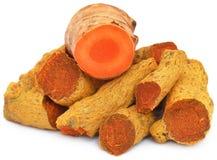 Dry turmeric Stock Photos