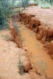Dry valley in desert - Australia Royalty Free Stock Image