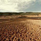 Dry Valley Royalty Free Stock Images