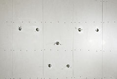 Dry wall installation at the ceiling #2 Royalty Free Stock Photography