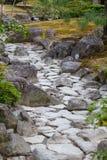 Dry water stream Royalty Free Stock Photos