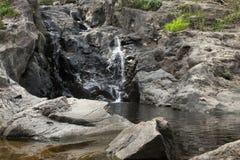 Dry waterfall Stock Photo