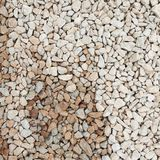Dry and wet pebbles Royalty Free Stock Image