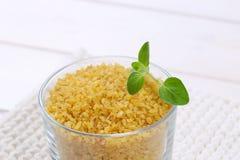 Dry wheat bulgur Stock Image